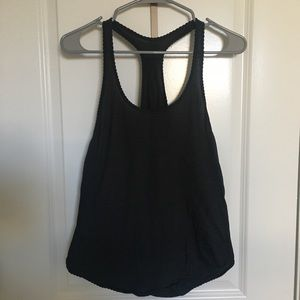 Lululemon Yogi Tank - Black/Grey